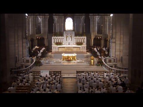 Vêpres du Sacré-Coeur avec les prêtres de Paris, 3 juin 2016