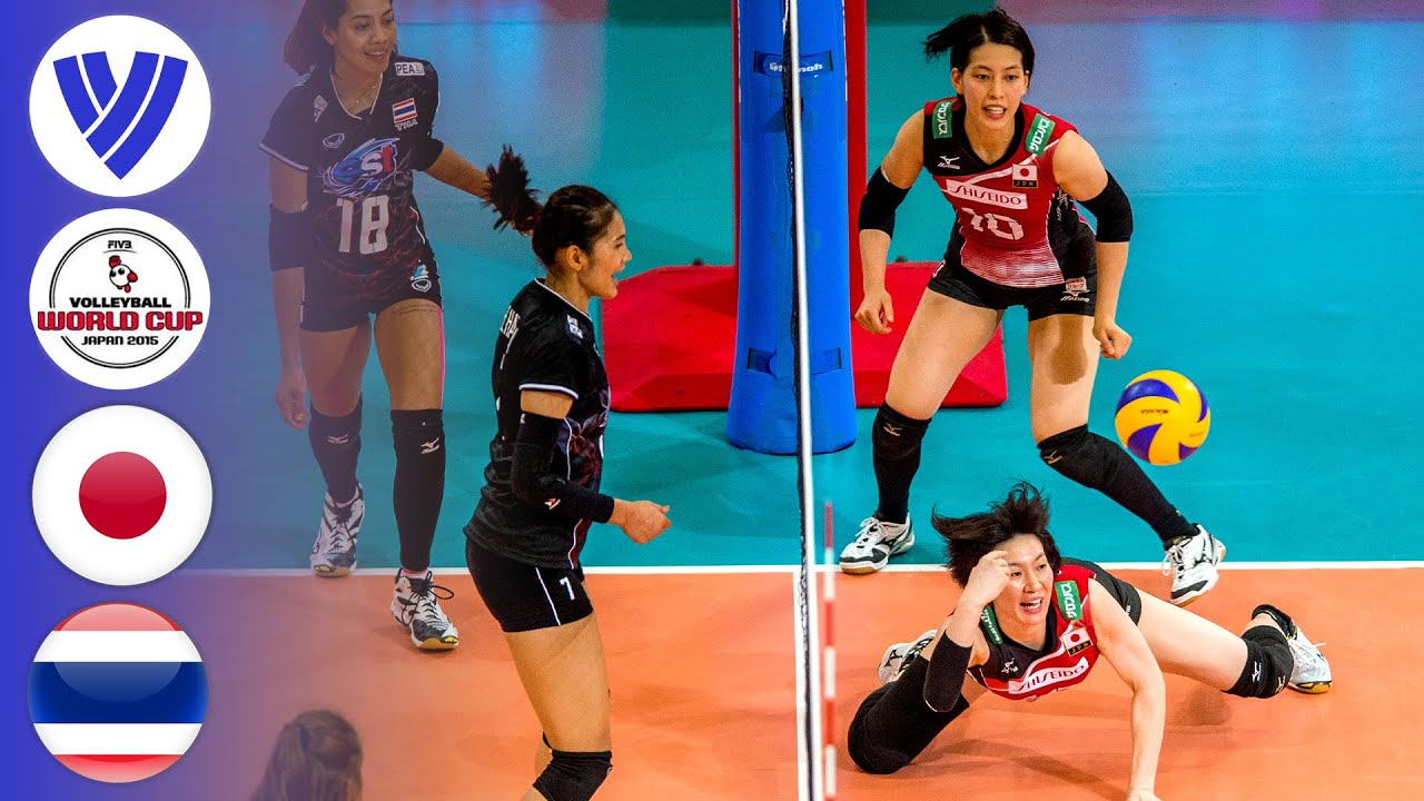 Japan Vs Thailand Full Match Women S Volleyball World Grand Prix 2017 Youtube