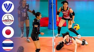 Japan vs. Thailand - Full Match | Women's Volleyball World Grand Prix 2017