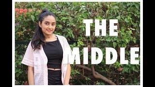 """THE MIDDLE""- ZEDD || @Matt Steffanina choreography || RISHA RATHOD"