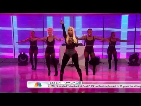Nicki Minaj  Starships  on Today 04062012 HD