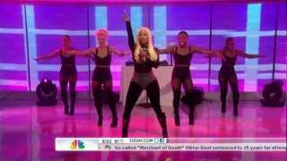 Nicki Minaj - Starships (Live on Today 04-06-2012) [HD]