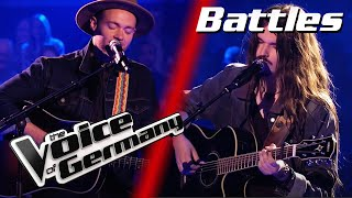 Ed Sheeran - I See Fire (Noah Sam Honegger vs. Marvin Scondo) | The Voice of Germany | Battles
