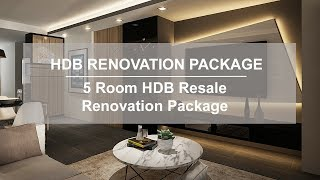 HDB 5 Room Resale Flat Interior Design - Buy Singapore HDB | S…