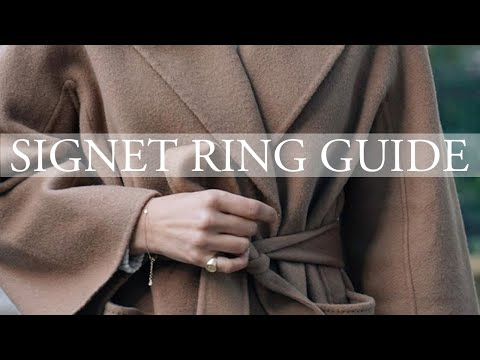 Complete Signet Ring Guide & My Own Ring