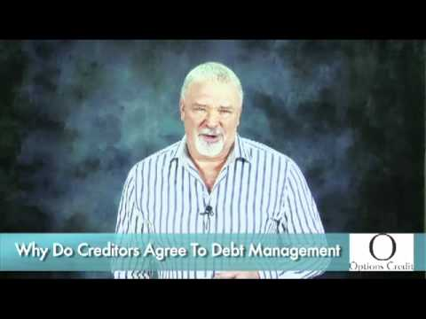 Debt elimination plans and creditors