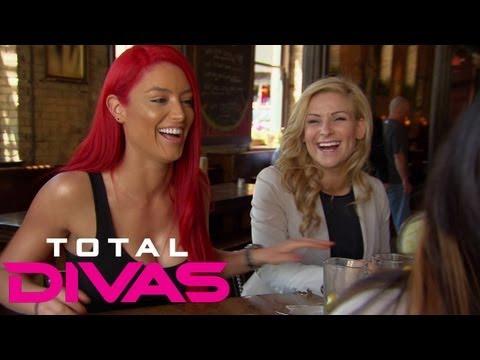 Eva Marie breaks the news about her Maxim magazine photoshoot: Total Divas, Sept. 8, 2013