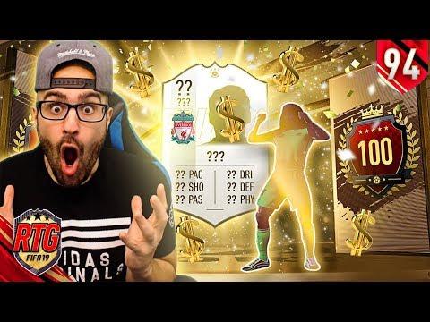 OMG HUGE PROFIT IN MY TOP 100 REWARDS! FIFA 19 Ultimate Team RTG #94