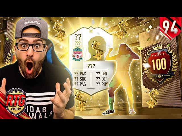 OMG HUGE PROFIT IN MY TOP 100 REWARDS! FIFA 19 Ultimate Team RTG #94