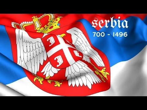 Storia della Serbia - ca. 700 dc / 1496 dc