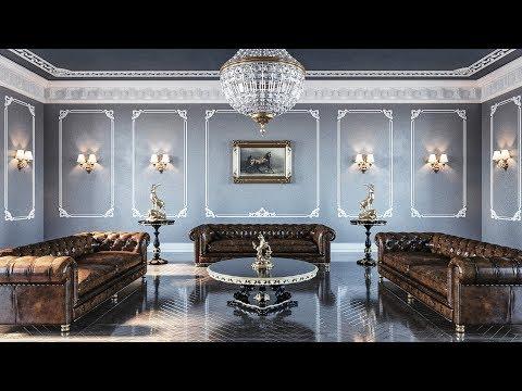 Neo Classic Room Rendering (Best 3dsmax Tutorial)