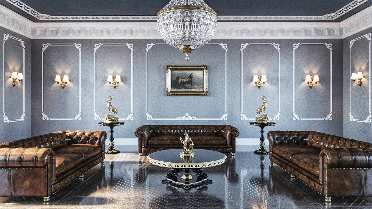 Neo Classic Room Rendering (Best 3dsmax Tutorial) - YouTube
