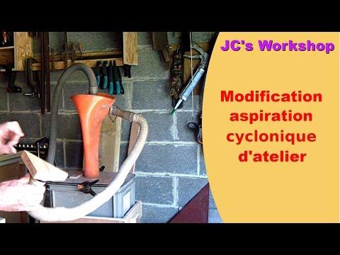 Aspirateur cyclonique d'atelier, modification du cône - #30