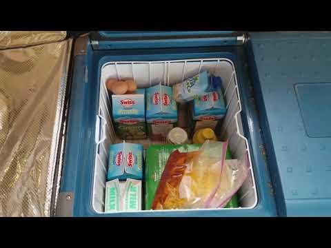 My Solar Powered Refrigerator Freezer - New Off Grid Home