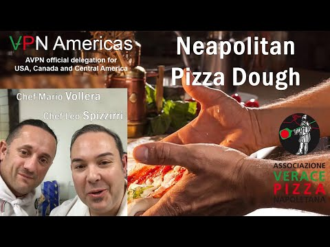 The Art of Hand Making Authentic Neapolitan Pizza Dough