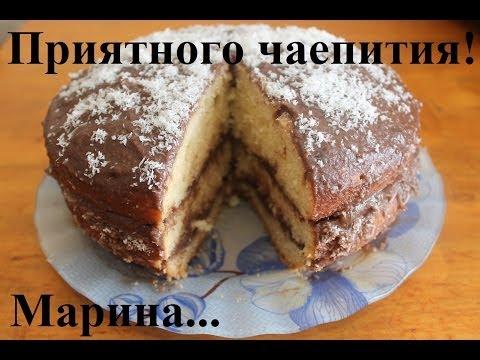 Банановый торт в духовке рецепт с фото