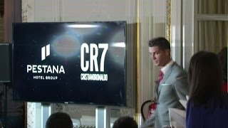 Cristiano Ronaldo lancia la sua catena d'hotel