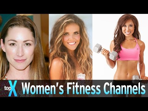 Top 10 YouTube Women's Fitness Channels TopX Ep.20