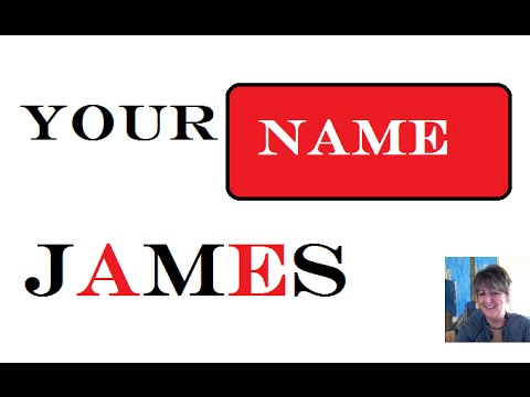 1st. Name Meaning 🎥 James *