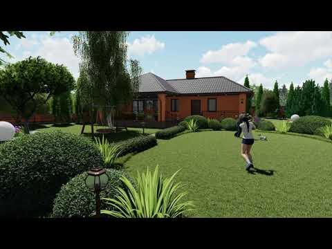 Ландшафтный дизайн  Проект участка 30 соток