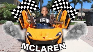 Learned Cool Tricks In My New MCLAREN!!!