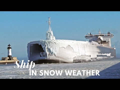 Life at Sea | Ship in Storm | Snow & Ice