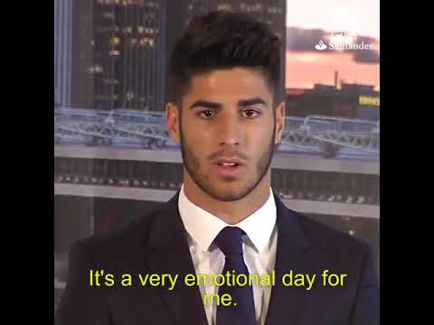Asensio Crying After Joining Real Madrid [ENGLISH]