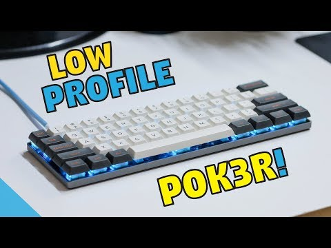 POK3R V2 Low Profile Mechanical Keyboard - Unboxing & Review