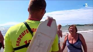 Baignade interdite sur la plage de Saint-Georges-de-Didonne (Charente-Maritime)