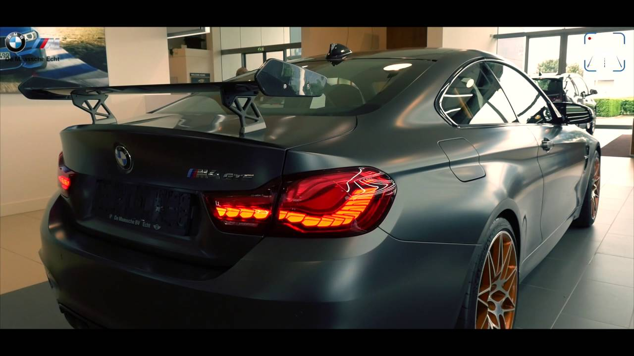 BMW M4 GTS In Depth FULL DETAIL & Startup Sound