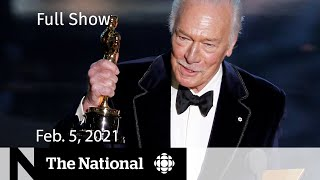 CBC News: The National | Canadian actor Christopher Plummer dead at 91 | Feb. 5, 2021