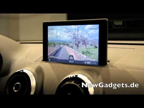 Vorstellung des MultiMedia Interface im neuen Audi A3