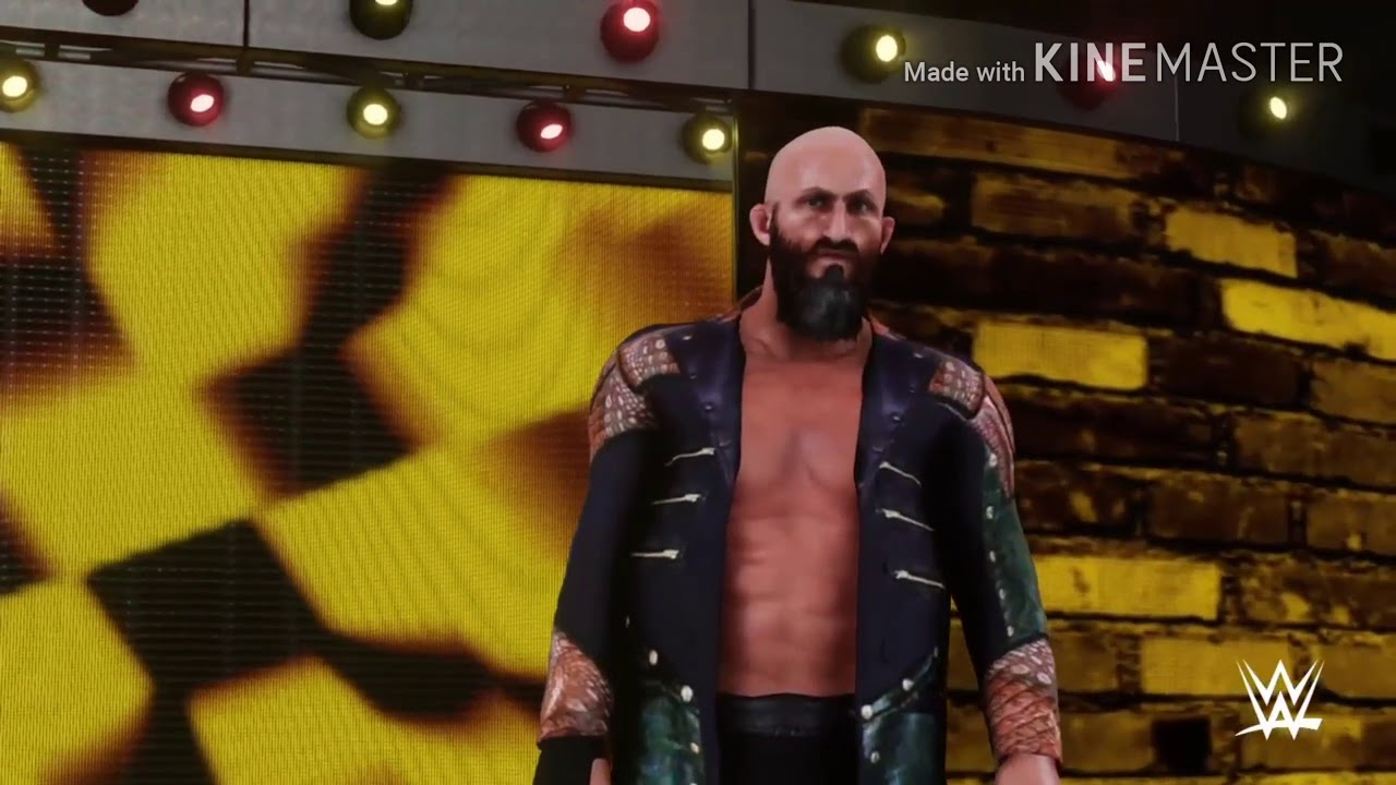 WWE 2K18: Tommaso Ciampa Updated Entrance