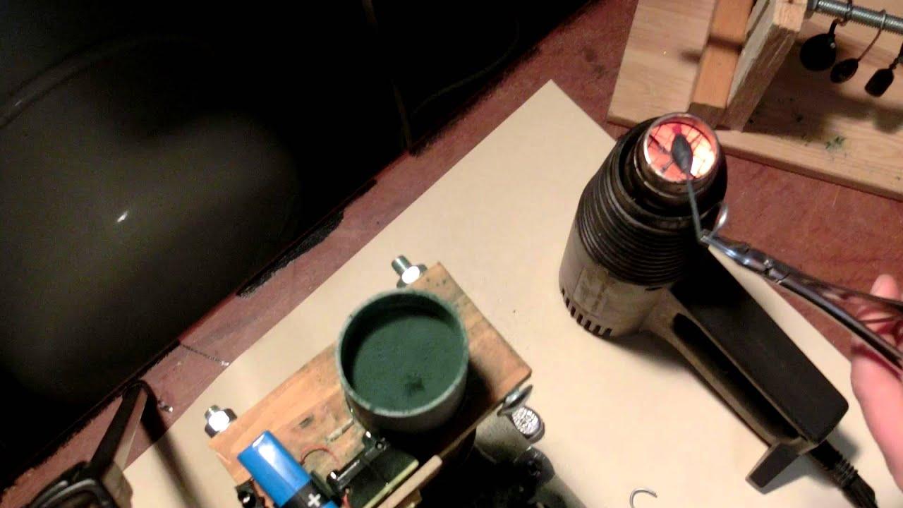 angelbleie pulverbeschichten mit selbstgebautem fluid bed - youtube
