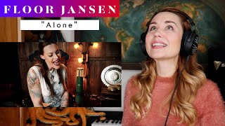 "Download Floor Jansen ""Alone"" REACTION & ANALYSIS by Vocal Coach/Opera Singer"