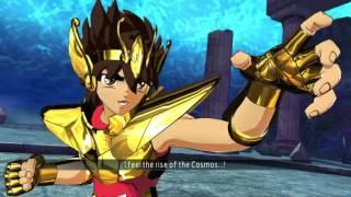 Saint Seiya Soldier's Soul: Poseidon Chapter walkthrough Part 2 [PS4] (English)