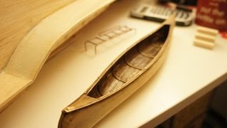 How to Make a Model Canoe