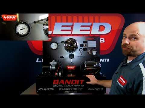 Bandit Series Brake Booster Vacuum Pumps | Vacuum Brake Boosters
