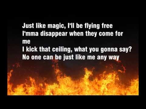Just Like Fire Pink Lyrics