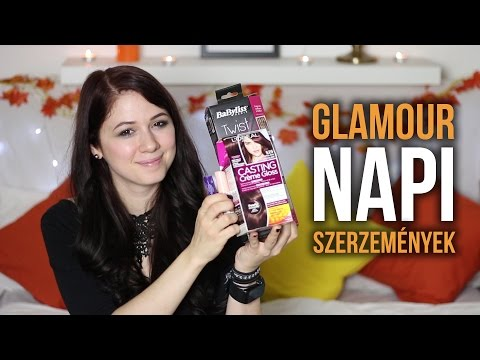 Glamour napi HAUL | Csillsz
