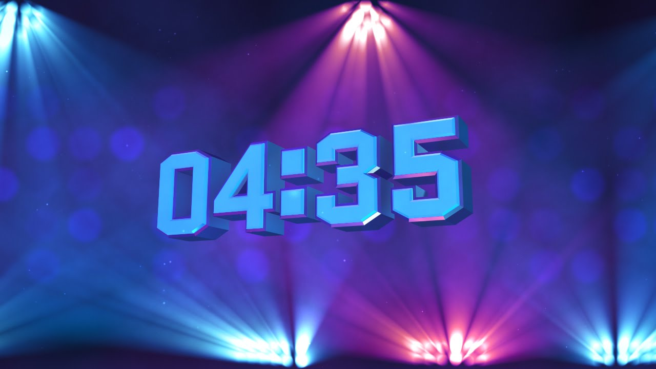 stage lights 5-minute countdown hd by motion worship