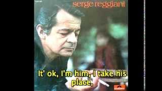 "Serge Reggiani ""Le monsieur qui passe"" (English subtitle)"
