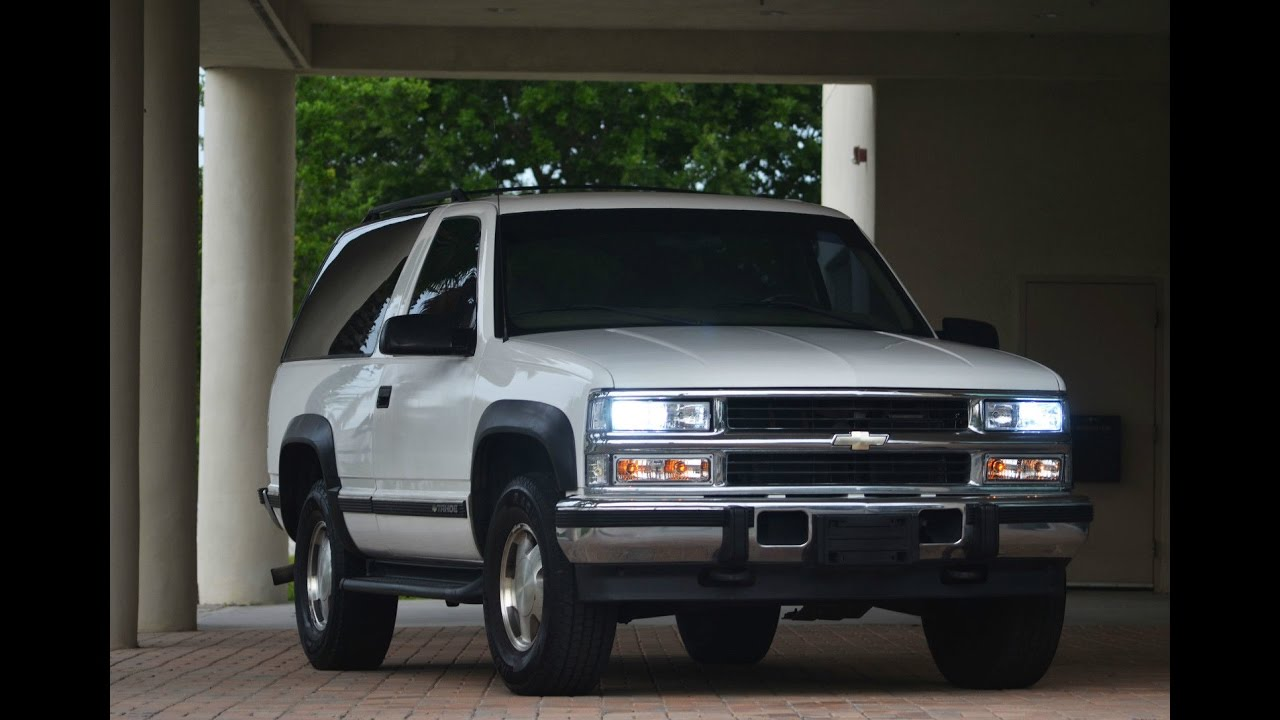 small resolution of 1999 tahoe 2dr diesel youtube