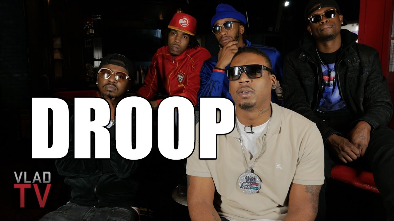 Rapper Droop on Getting Shot by Soulja Boy 5 times & Denies Robbery & Mask Story