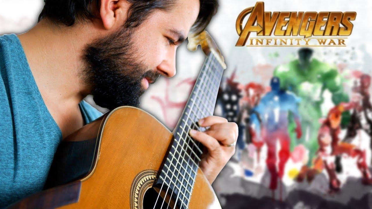 AVENGERS: INFINITY WAR - Main Theme Classical Guitar Cover