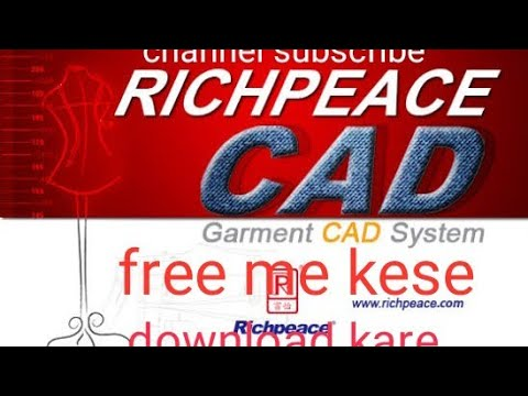 Richpeace Garment Cad Software Free Download Youtube