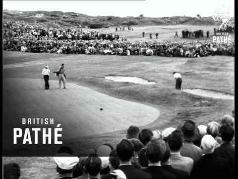 Aussie Wins Golf Open (1954)