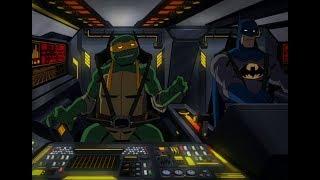 Batman vs. Ninja Turtles: Michelangelo Press Some Buttons