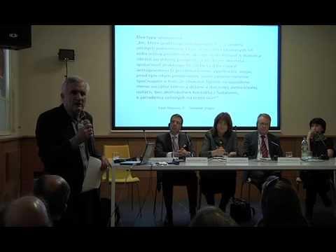 """Miroslav Marcelli (SK) - Conference """"The city in 2112"""", Bratislava, 2012"""