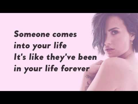 Heart By Heart - Demi Lovato with Lyrics